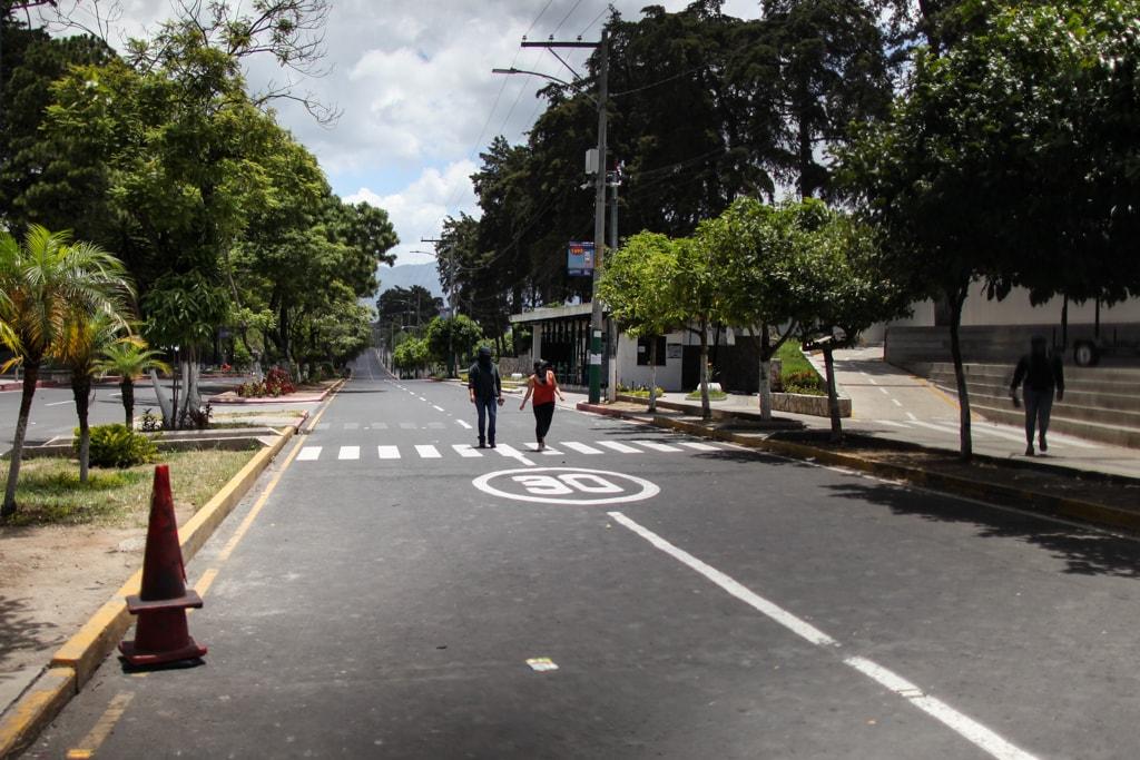 Dentro de las peticiones estudiantiles es que la USAC vuelva a tomar su rol histórico de demanda social y no estar ausente de los problemas nacionales. Foto: Carlos Sebastián
