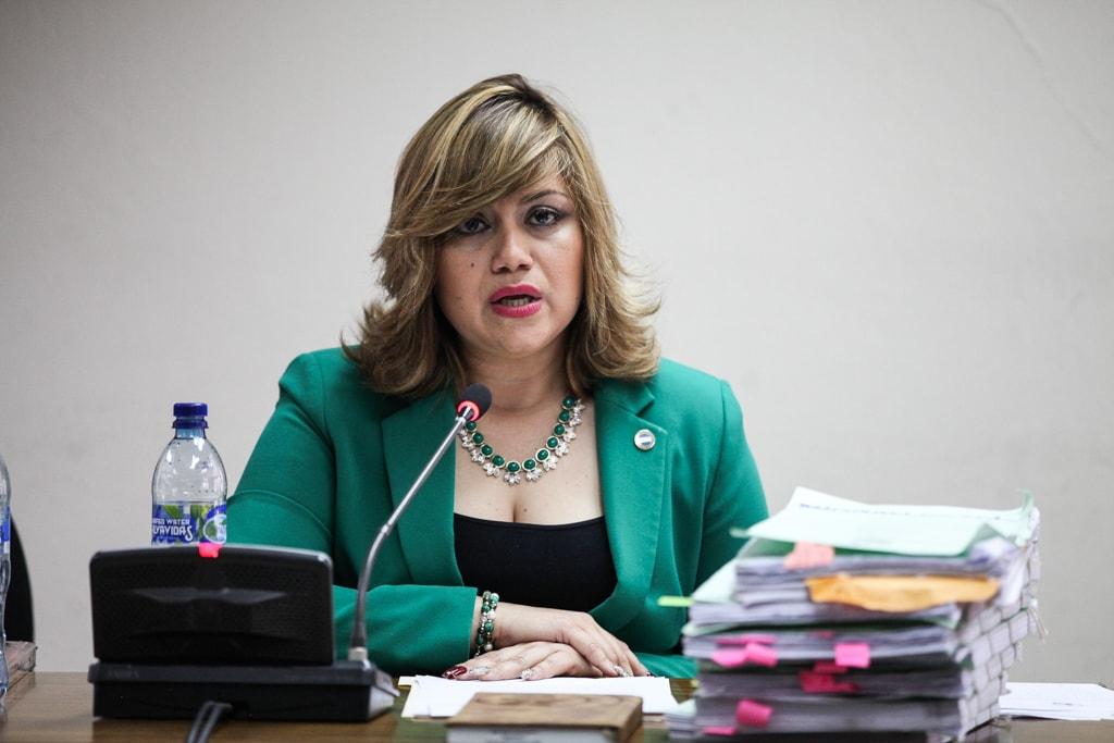 Abogada Beyla Estrada.