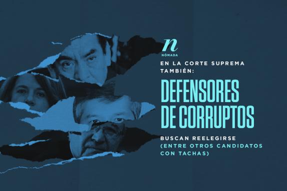 En la Corte Suprema también: Defensores de corruptos buscan reelegirse (entre otros candidatos con tachas) imagen