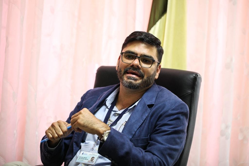 Gerardo David Hernández García, director del Hospital Nacional de Antigua Guatemala Pedro de Bethancourt.