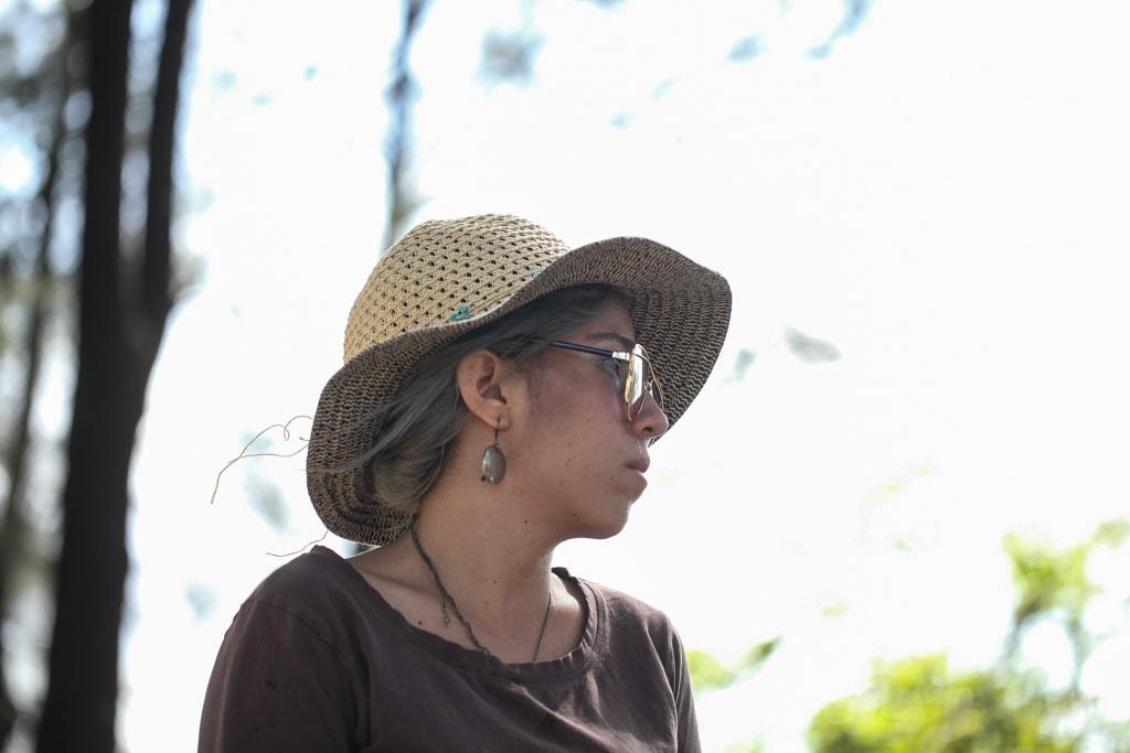 Pamela Flores relata los episodios de violencia a la que fue sometida por Paulo Alvarado. Foto: Carlos Sebastián