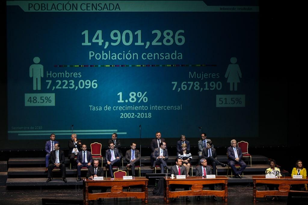 Presentación del censo 2018.