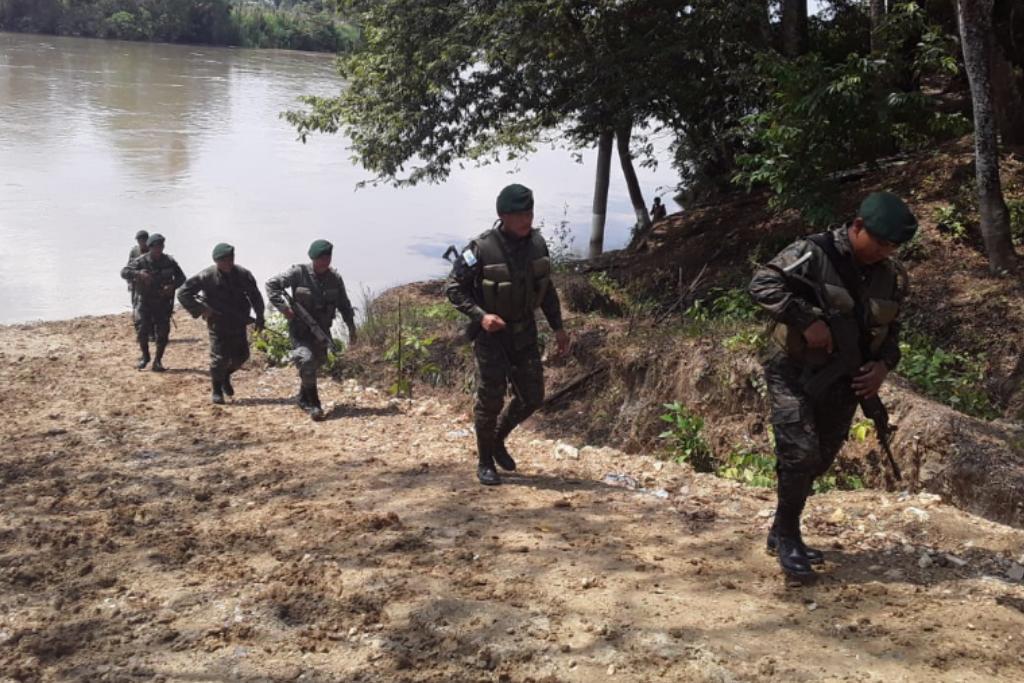Ejército de Guatemala.