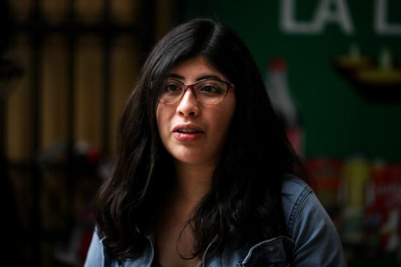 Lenina García. Foto: Carlos Sebastián