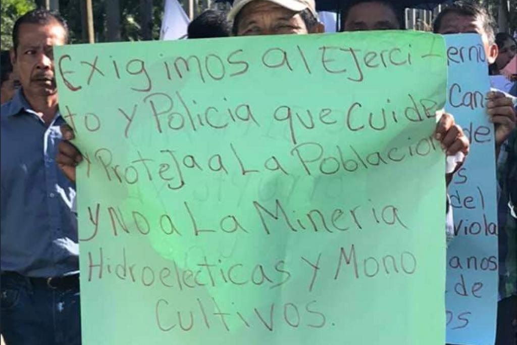 Codeca protesta contra los estados de Sitio. Foto: Twitter