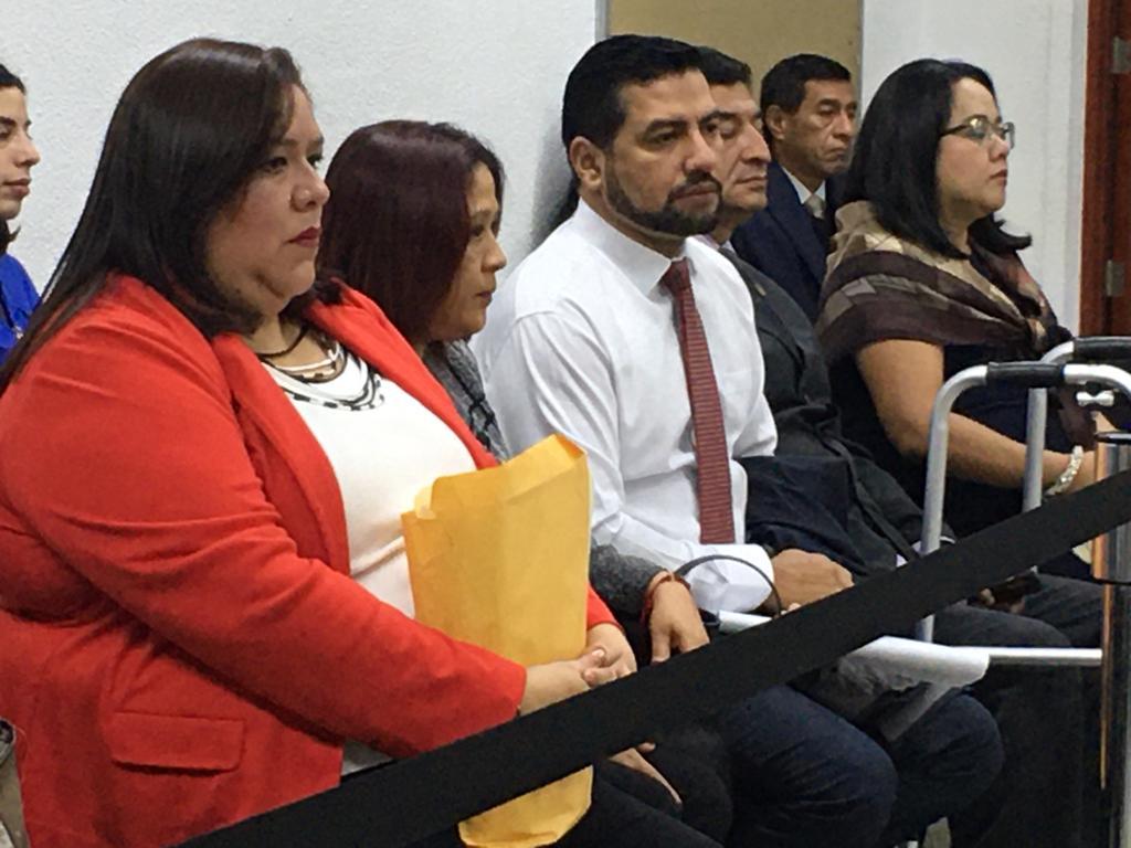 Miembros del Consejo de la Carrera Judicial. Foto: Carlos Sebastián