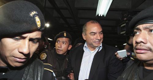 El exfiscal fue señalado de lavado de dinero cuando fue titular del Ministerio Público en 2002. (Foto: Soy502)