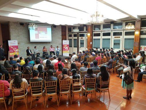 Una de las actividades realizadas en Quetzaltenango