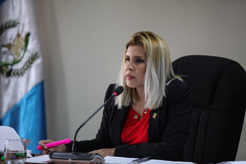 Jueza Eva Recinos. Foto: Carlos Sebastián
