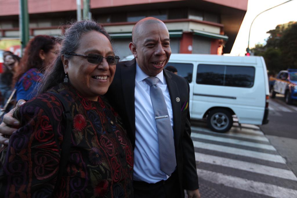 Sandra Morán deja el Congreso y delega la tarea por la lucha por los derechos de las minorías a Aldo Dávila. Foto: Carlos Sebastián