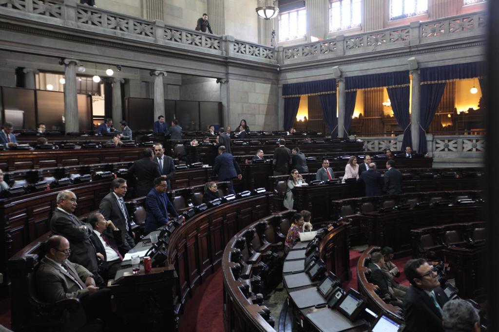 Fue escasa la presencia de diputados durante la presentación del informe anti-Cicig.