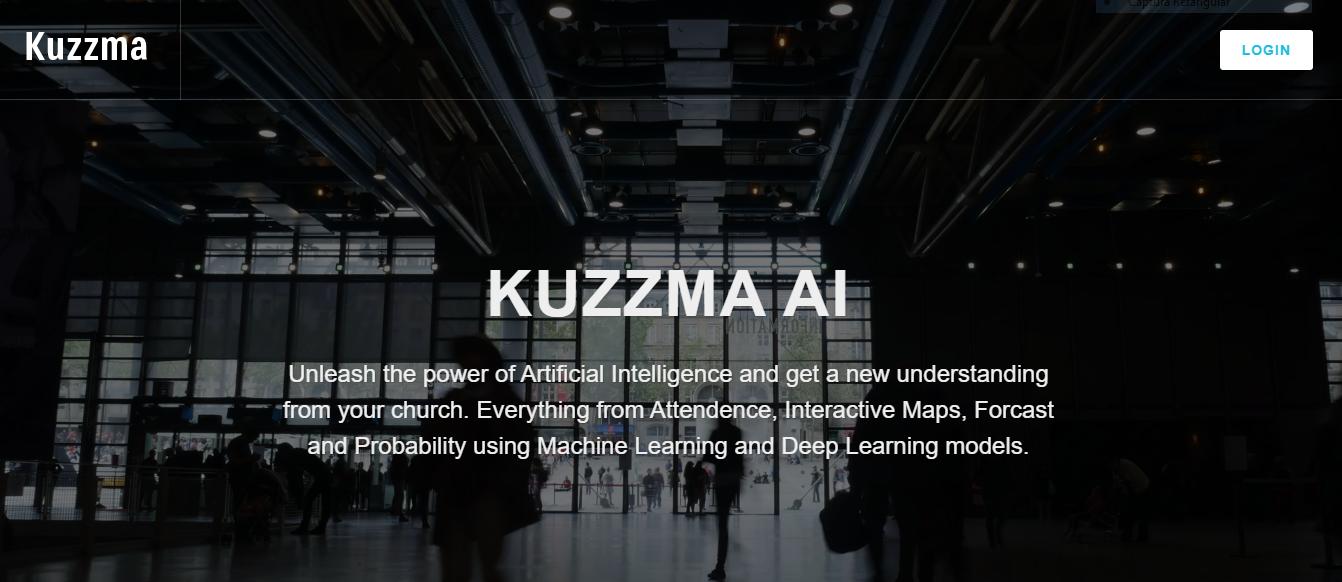 Sitio web de Kuzzma.