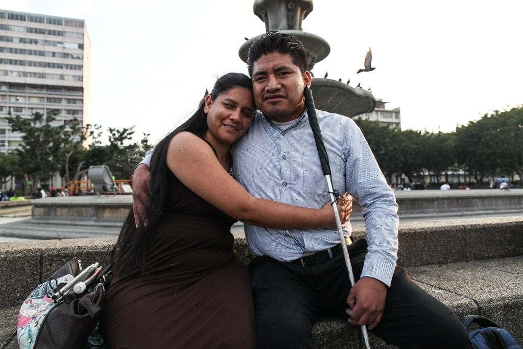 Jorge Luis y Dilcia.