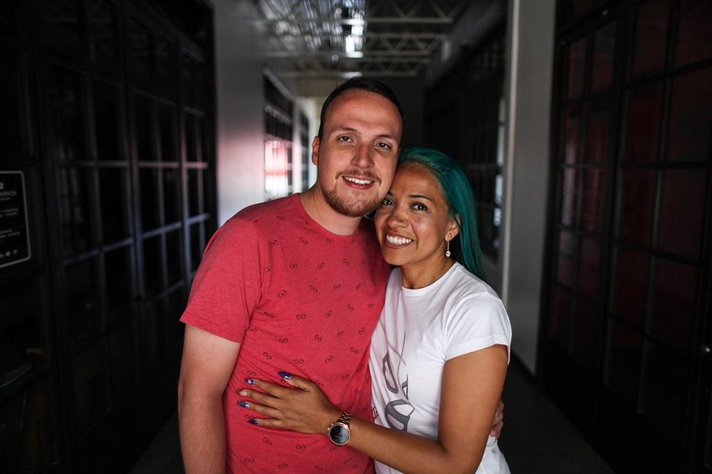 Lila y Gustavo tienen un año y 7 meses de estar juntos.