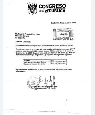 Javier Hernández, jefe de FCN, pide que Giordano sea contratado como asesor.