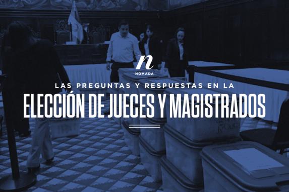 Las preguntas y respuestas en la elección de jueces y magistrados imagen