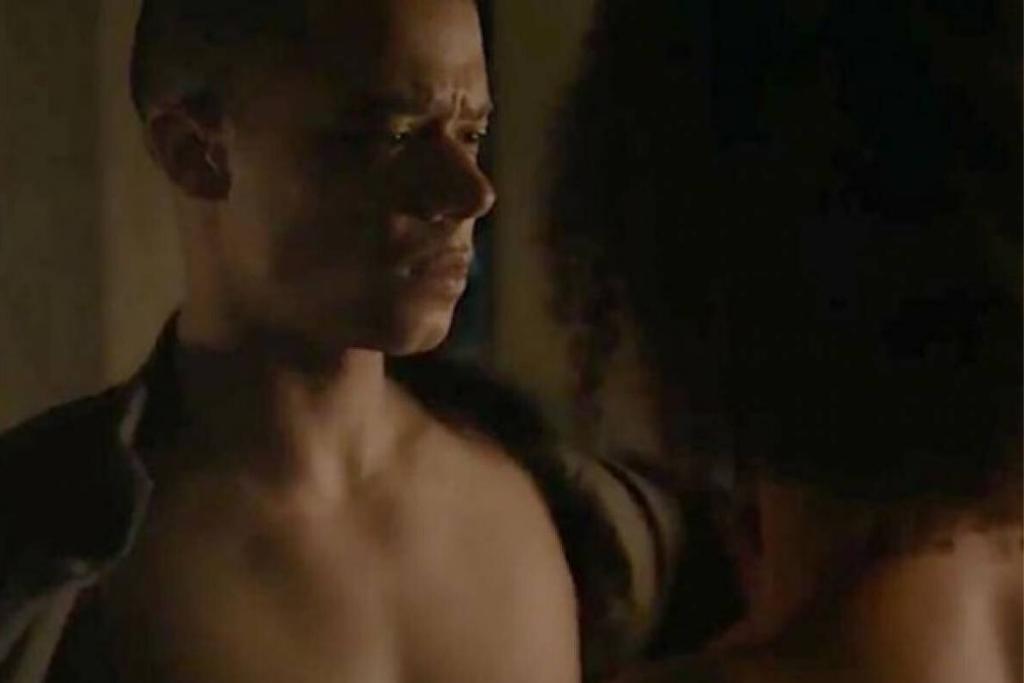 Grey Worm, el aguerrido maestro de guerra de la reina Daenarys Targaryen en la serie Juego de Tronos.