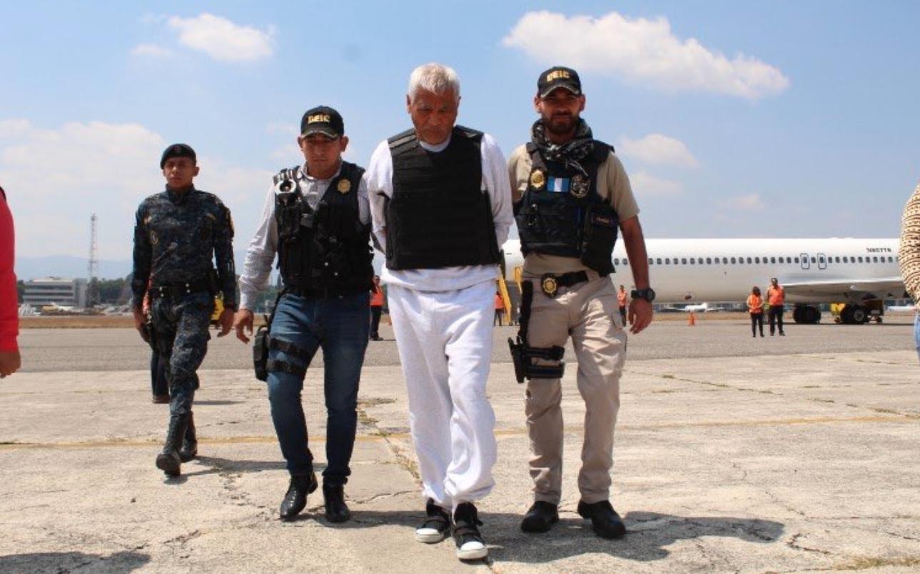 El militar Gilberto Jordán fue deportado de Estados Unidos. Foto: @VerdadJusticiaG
