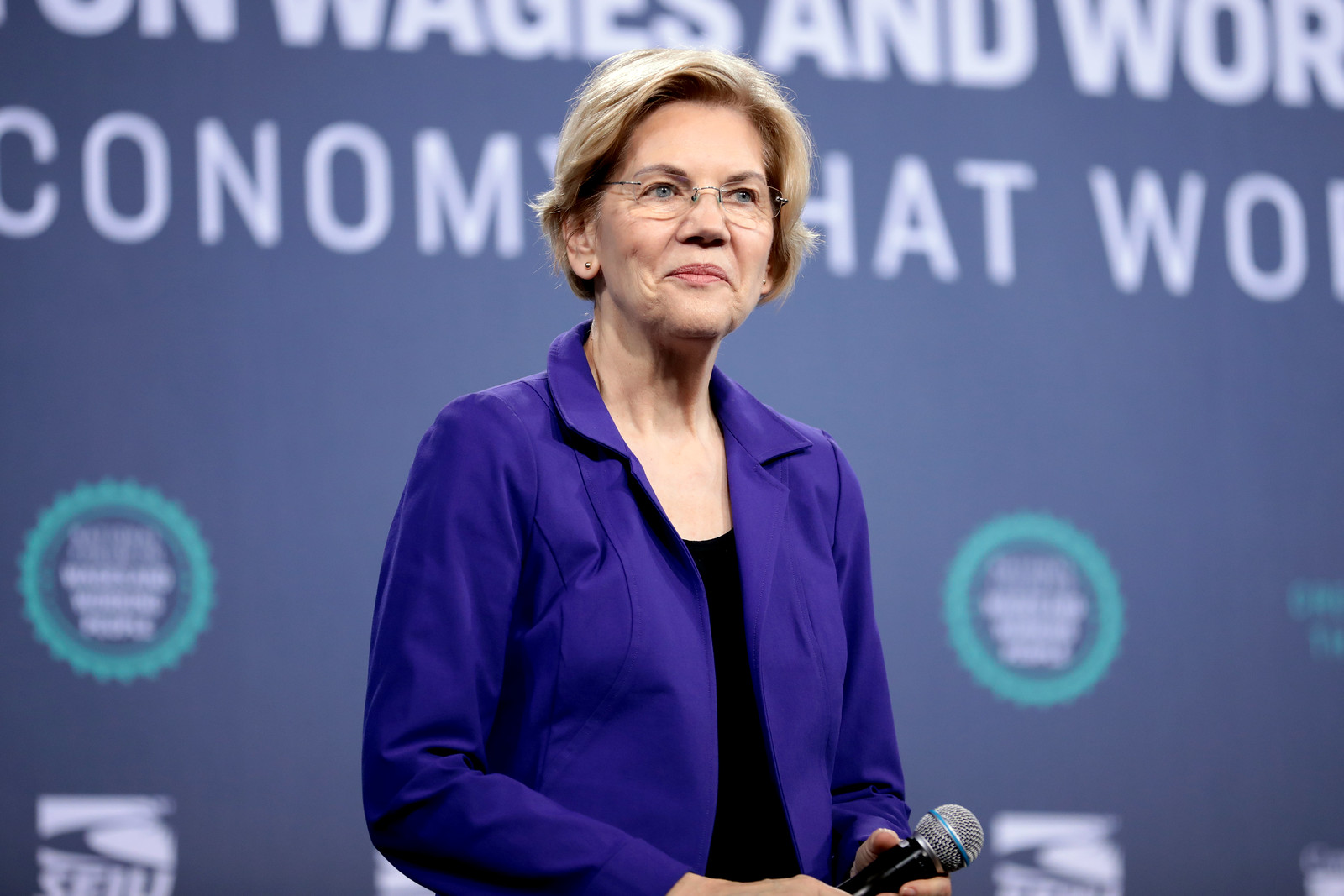 Senadora progresista de Massachusetts Elizabeth Warren. Foto: Flickr
