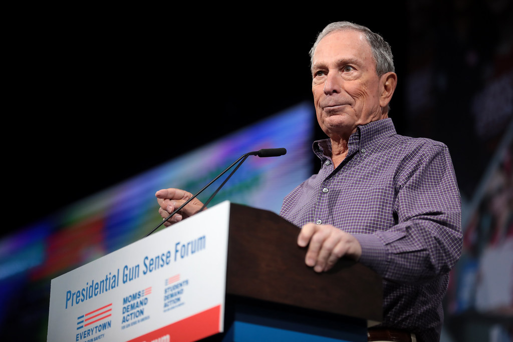 Exalcalde de la Ciudad de New York Mike Bloomberg. Foto: Flickr