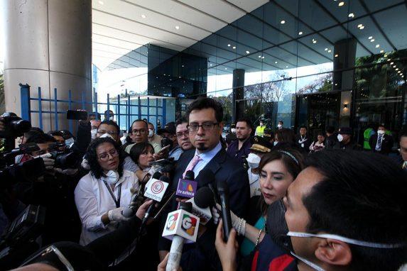 Lisandro Bolaños, ministro de Economía en funciones.