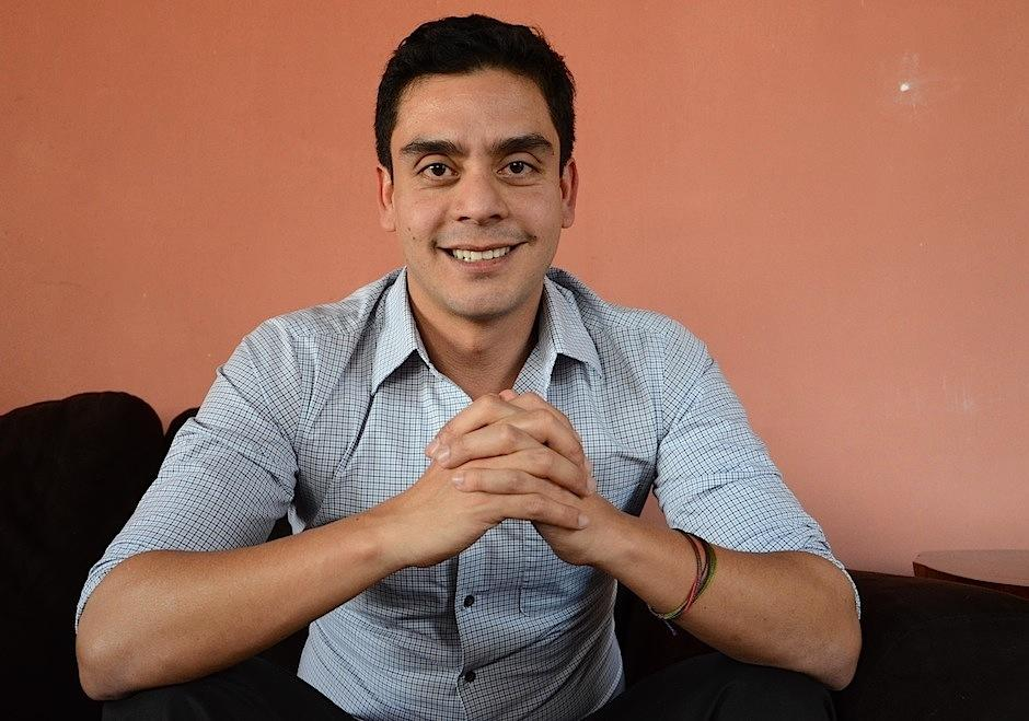 Jayro Bustamante, director de cine guatemalteco. Foto: Soy502