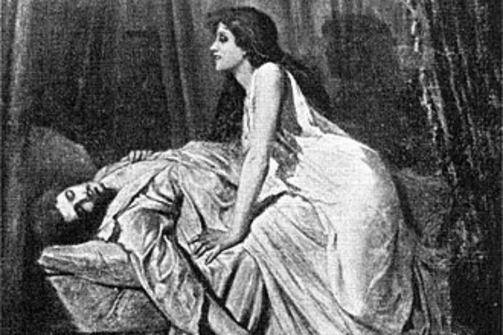 El Vampiro, de Philip Burne-Jones (1897).