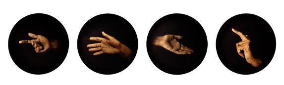 """De la serie """"Jerarquías de Intimidad. La Anunciación"""" Luis González Palma. 2007"""