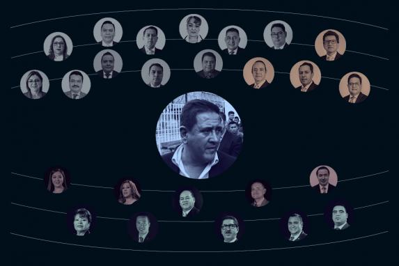 Nombres (y rostros) de diputados y candidatos a Cortes que se reunieron con Gustavo Alejos imagen